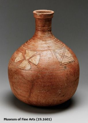 Nubian decorated bottle, Meroitic Period (Yvonne Buskens, contrib.)