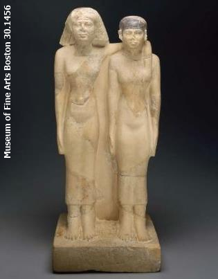 - Queens Hetephers II and Meresankh III, Old Kingdom Fourth Dynasty, Giza tomb G7530 – G 7540 (Museum of Fine Arts Boston 30.1456)
