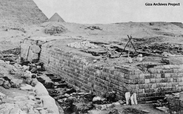 The mastaba of Merib, looking SSW (Giza Archives Project)
