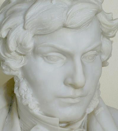 Marble Bust of Champollion by Paul-Roussel – 1923 (Ia Georgia, contrib.)