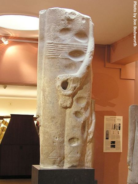 Predynastic statue of Min (Photo by Jon Bodsworth)