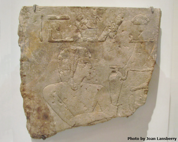 Prince Khaemwaset, also known as Setne the Magician, from Saqqara, New Kingdom, Ramesside Period, Brooklyn Museum (37.513) (Photo by Joan Lansberry)