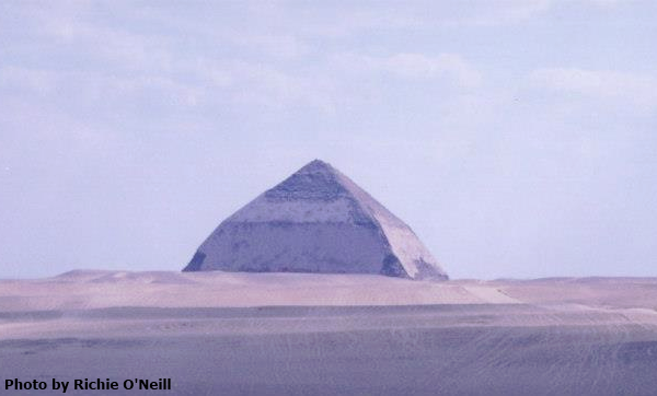 The Bent Pyramid (Photo by Richie O'Neill)
