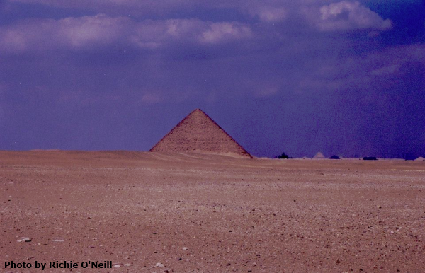 The Red Pyramid (Photo by Richie O'Neill)